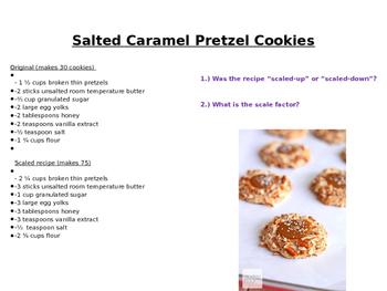 Crazy Cookie Scale Factors!