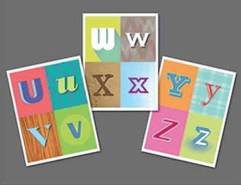 Crazy Cool Alphabet Cards