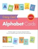 Crazy Cool Alphabet Cards