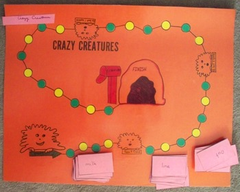 Crazy Creatures Game (for Compound Words)