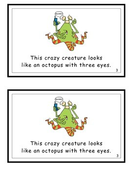 Crazy Creatures Guided Readers (Cr initial blend and hfw)