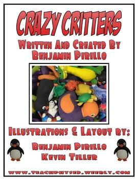 Crazy Critter Activity Book (Print Friendly)