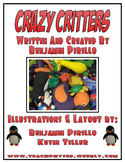 Crazy Critter Activity Book (Print Friendly)