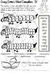 Crazy Critter's 3 Activities - ST Words - Set 3 Bundle