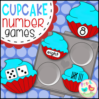 Crazy Cupcake Number Games