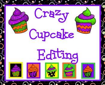 Crazy Cupcakes Editing