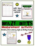 Crazy Cuts Measurement Activity
