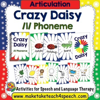 L Phoneme- Crazy Daisy Card Game