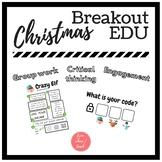Crazy Elf - Simple BREAKOUT EDU - FREEBIE
