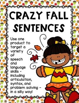 Crazy Fall Sentences
