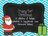 Crazy For Christmas:  A December Unit