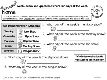 Crazy About Conventions: 15 Weeks of Engaging Activities and Mini Lessons