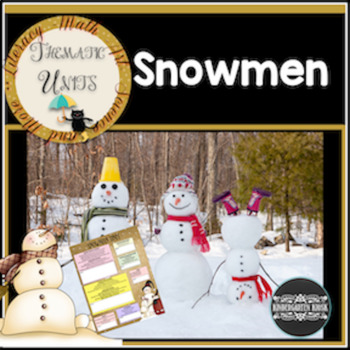 Snowmen Thematic Unit