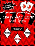 Crazy Fractions- Comparing Fractions Game