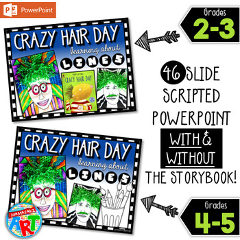 Crazy Hair Day Line Project