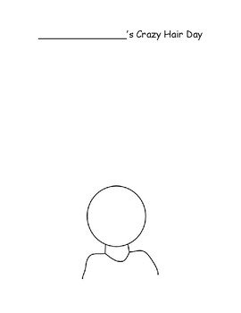 Crazy Hair Day Template