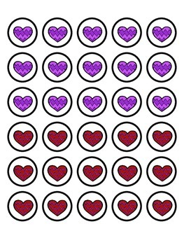 Crazy Hearts- Multiplication Fact Practice