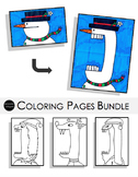 Holiday Coloring Pages Bundle
