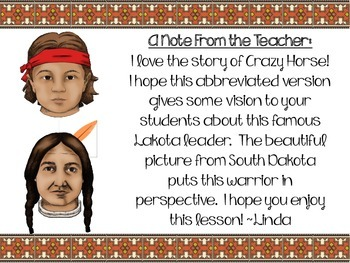 Crazy Horse:  A Boy Named Curly...The Great Lakota Leader