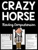 Crazy Horse Reading Comprehension; Native Americans, Battle of Little Bighorn