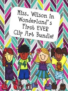 Crazy Kiddos - Clip Art FREEBIE!