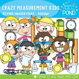 Crazy Measurement Kids Clipart