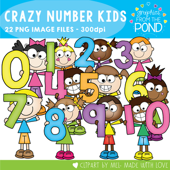 Crazy Number Kids