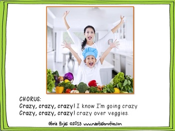 Crazy Over Veggies – Songbook Mp3 Digital Download