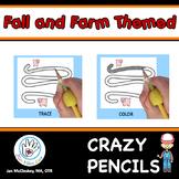 Fine Motor Pencil Grasp Activities FALL AND FARM ANIMAL