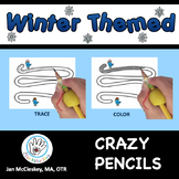 Fine Motor Crazy Pencils!  WINTER THEMED  Activities for Center Time!