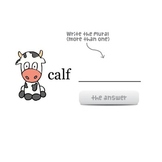 Crazy Plural Nouns - SMART Lesson