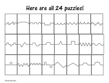 Crazy Puzzle Pack - All 24 Puzzles