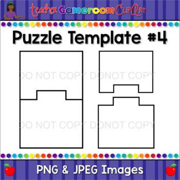 Crazy Puzzle Pack - Puzzle Template #4