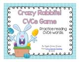 Crazy Rabbits! A CVCe Game