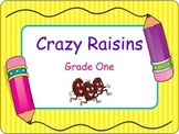 Crazy Raisins Early Science Activity