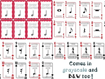 Crazy Rhythm (Card Game)