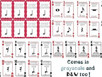 Crazy Rhythm (Card Game)