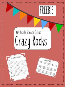 Crazy Rocks - Science Activity Freebie