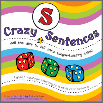 """Crazy /S/ Sentences"" Speech Artic Activity"