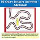 Fine Motor Crazy Scissors!  BACK TO SCHOOL THEMED Activiti