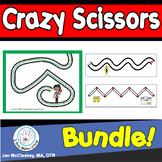 Scissors Skills Bundle for Fine Motor Skills in Pre-K Kind