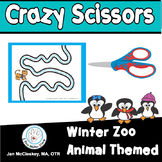 Fine Motor Crazy Scissors!  WINTER THEMED  Skills Activities for Centers