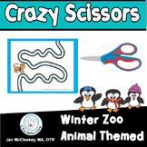Scissors Skills Winter Themed