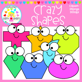 Crazy Shapes Clipart