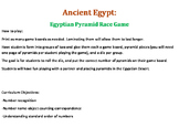 Ancient Egypt Pyramid Race Math Game