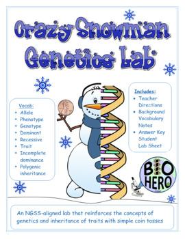 Crazy Snowman Genetics Lab