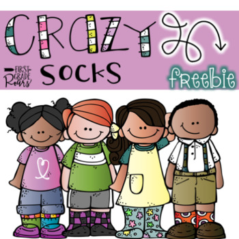 Crazy Sock Day! Freebie