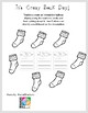 Crazy Sock Day Writing