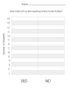 Crazy Socks Graph Template