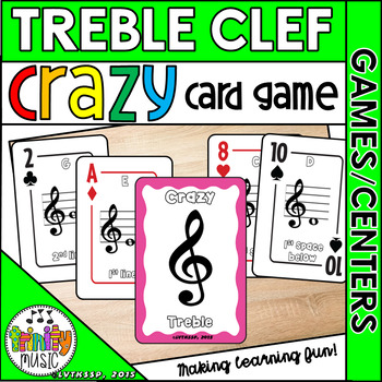 Crazy Treble Clef (Card Game)